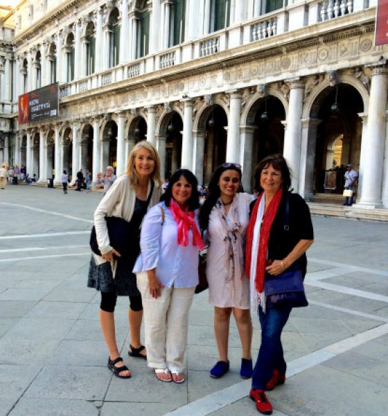 Venice, Perfect for a Long Awaited Meeting