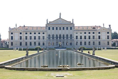 Villa Pisani in Strà, Riviera del Brenta near Venezia by Franco Amormino