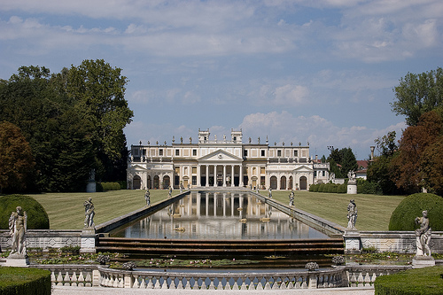 Villa Pisani, the stables and the lake by Franco Amormino