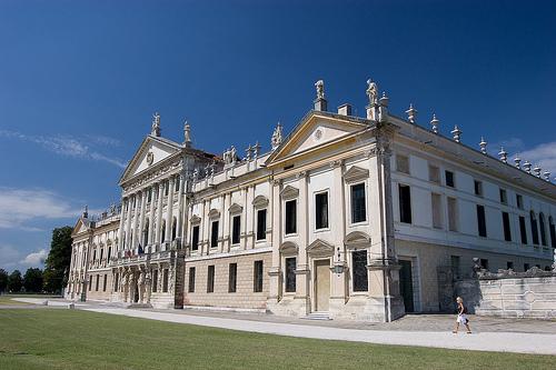 Villa Pisani in Strà, Venezia, main entrance by Franco Amormino