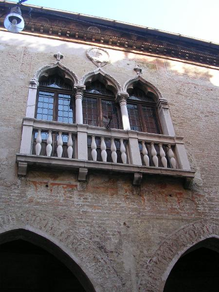 Medieval houses in Treviso