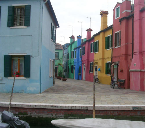 All colours of Burano