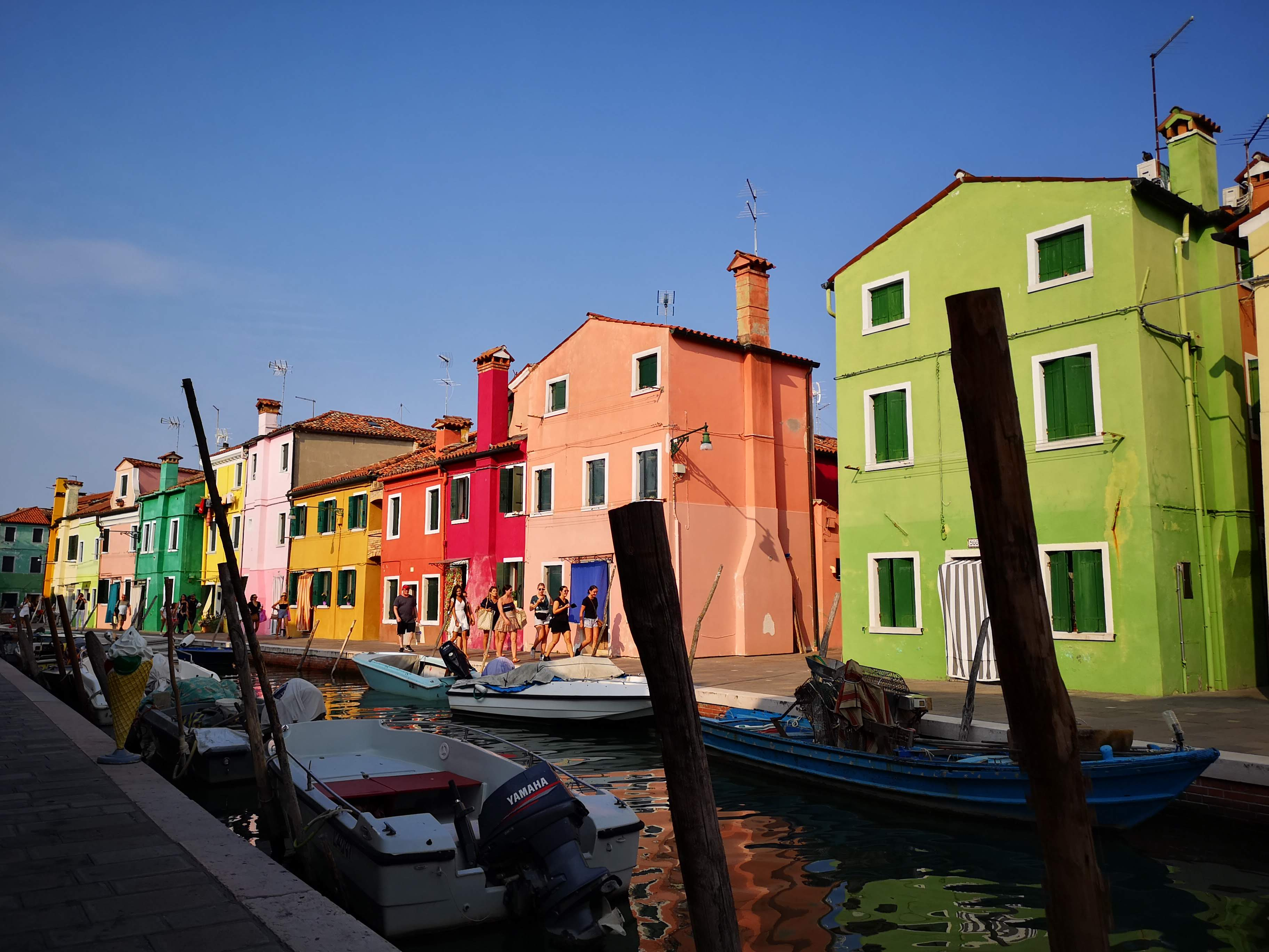 Colours in Burano