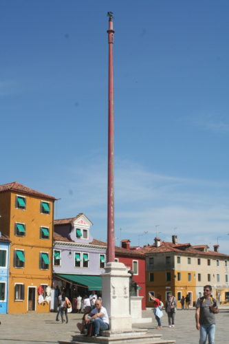 Burano, main square