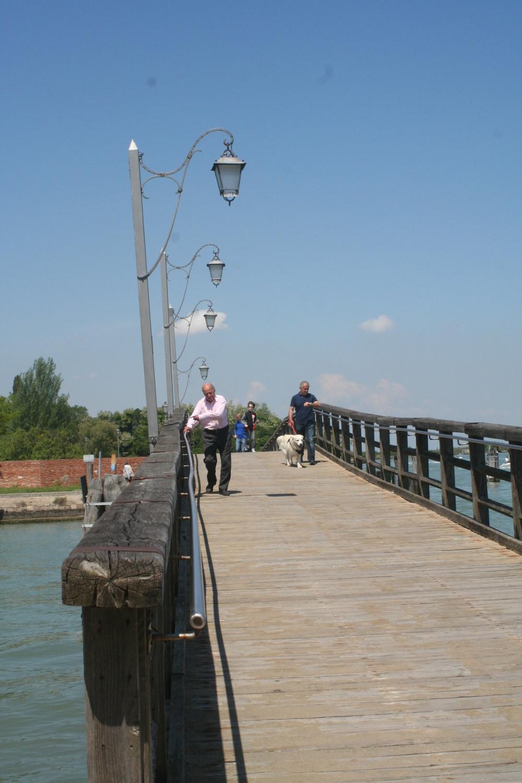 Bridge connecting Burano and Mazzorbo