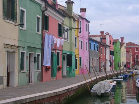 Burano, view of the Rainbow Island