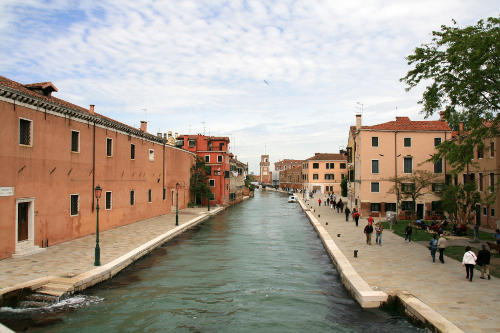 Arsenale from the Main Entrance Bridge