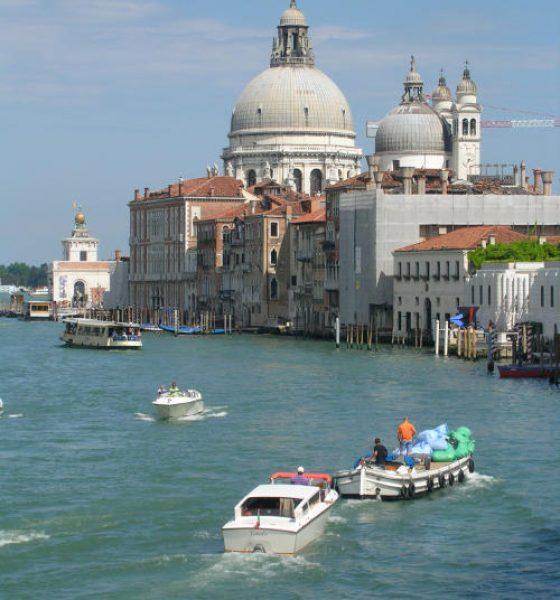 Venice celebrates Santa Maria della Salute