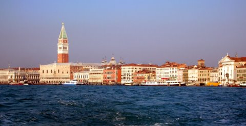 Venice view by Gusto Wine Tours