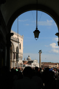 Entering Saint Mark's Square
