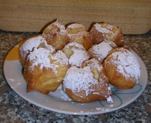 frittelle crema vassoio by cook in venice