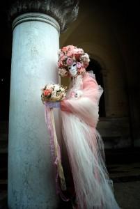 Pretty in Pink in Venice Carnival