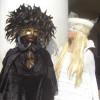 Black and White Carnival in Venice