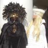 Black and White Carnival in Venice