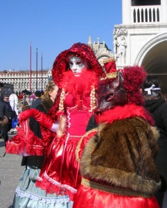 Little Red Riding Hood and the Wolf in Venice