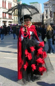 Red and Black in Venice
