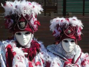 Lovely red masks