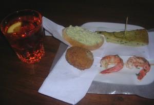 Spritz & cicchetti at Vecia Carbonera
