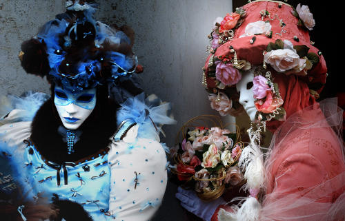 Flower masks Venice