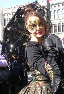 Dressing up at Carnival