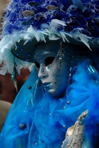 Amazing colours of Venice Carnival