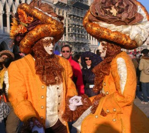 Multicolored Venice Carnival
