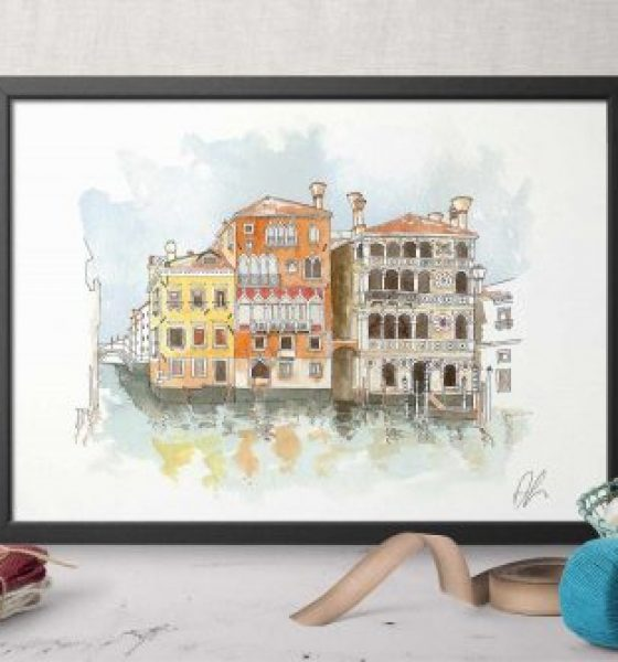 The Art of Craft in Venice – Etching