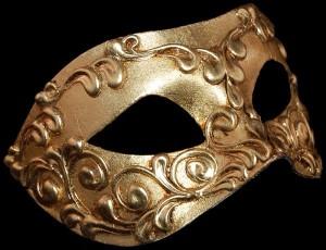 Colombina Venice Carnival Mask