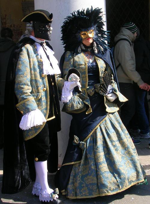 Costumes in Venice