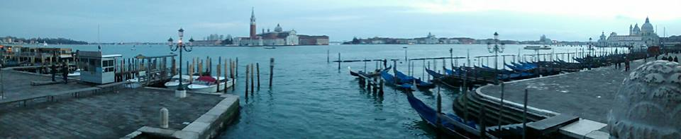 Panorama from San marco Venice