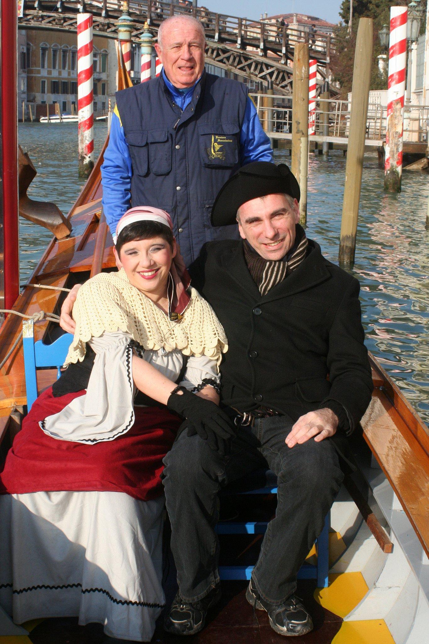 Venice Carnival 2015 with Remiera La Serenissima