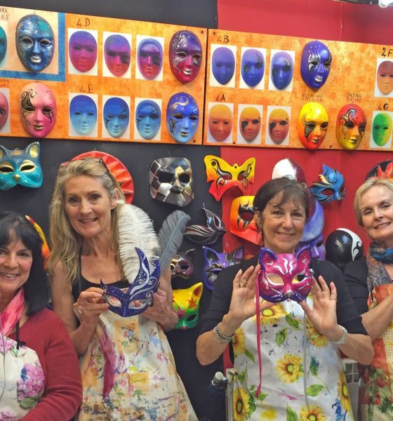 MEMORIES OF VENICE 2015 – Mask Painting in Venice