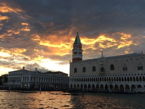 Venice Doge's Sunset - Photo by Victoria De Maio