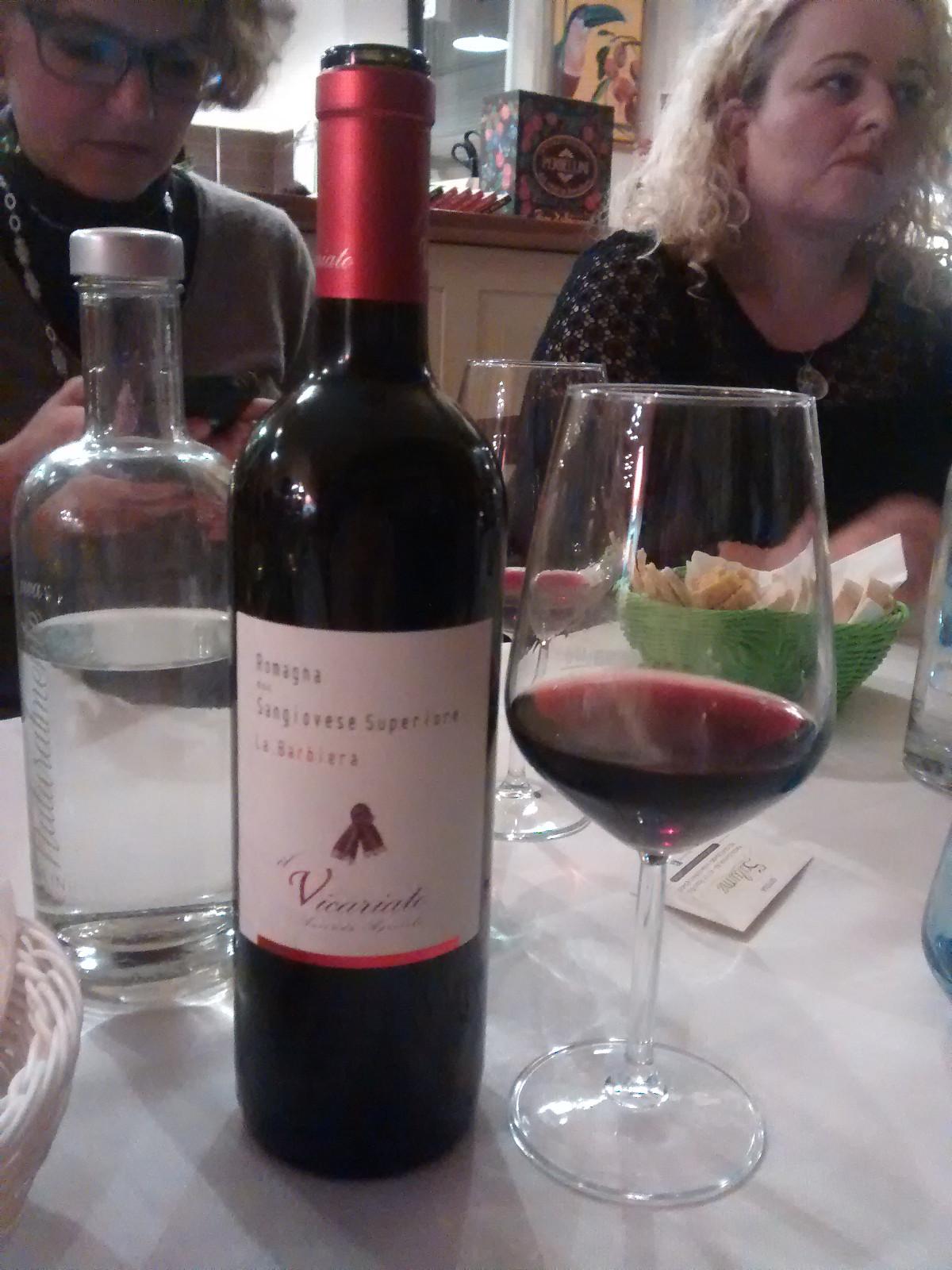 Salumè Restaurant Forli #blogginforli Sangiovese wine