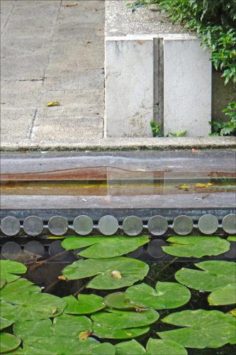 Garden at Fondazione Querini Stampalia by Jean-Pierre Dalbéra