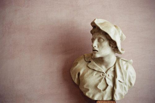 Bust at Fondazione Querini Stampalia by Ergonomik