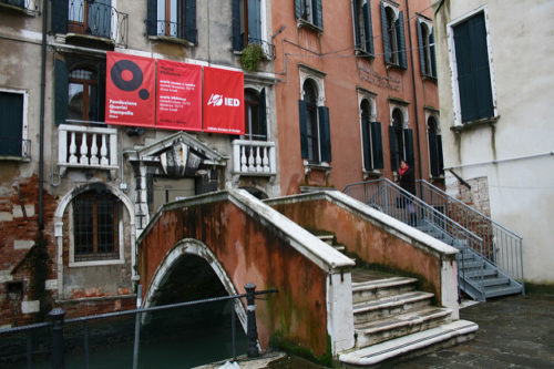 Entrance Fondazione Querini Stampalia by andrea castelli
