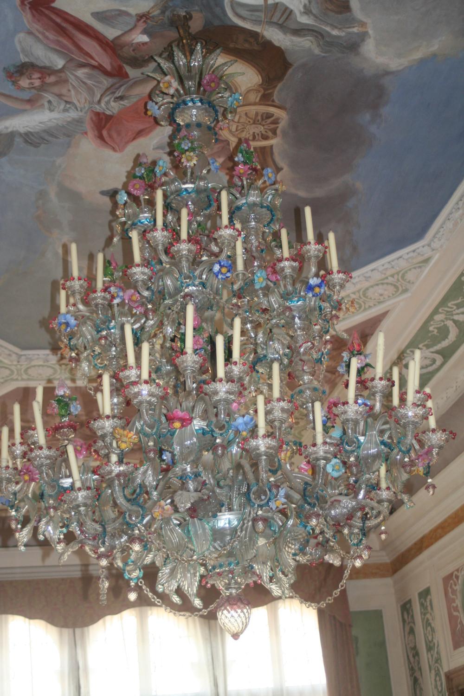 Chandelier at Fondazione Querini Stampalia