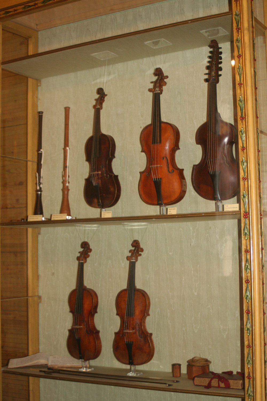 Violins at Fondazione Querini Stampalia