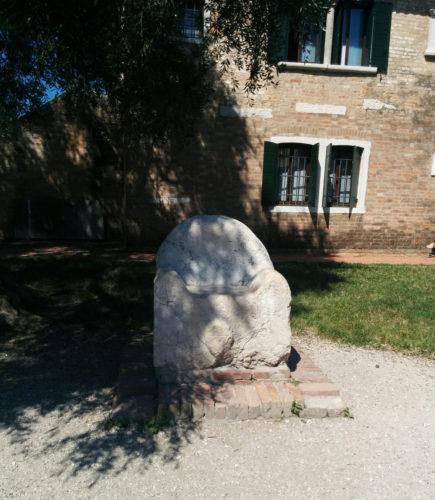 Attila's Throne in Torcello