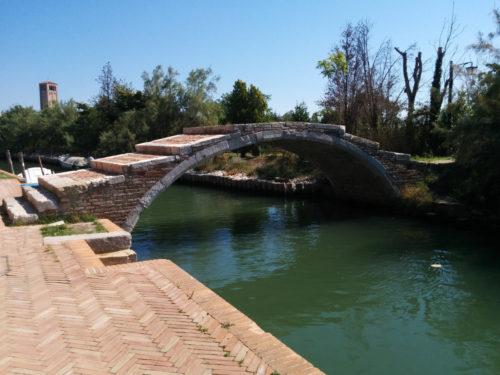 Ponte del Diavolo in Torcello by Monica Cesarato