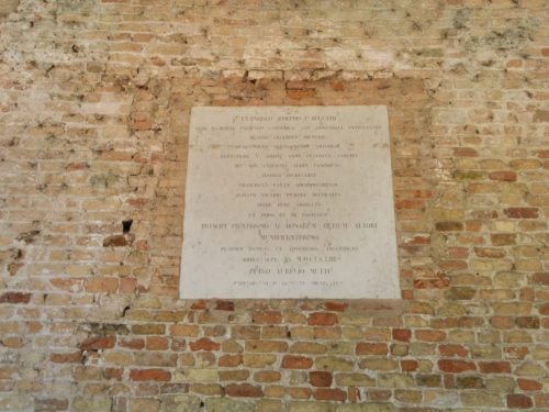 Torcello plaque