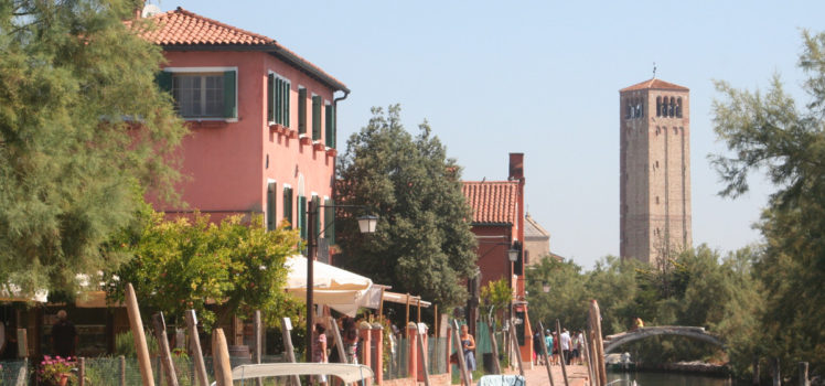 Walking in Torcello