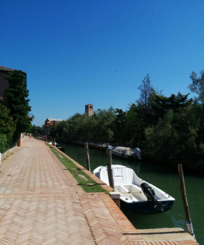 Walkway in torcello by Monica Cesarato