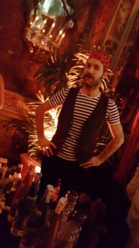 Barman at Cortese Party
