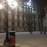 The snow in Venice 2017
