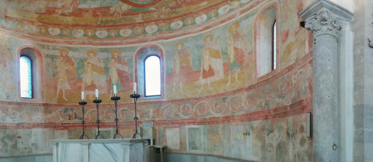Apse in Aquileia