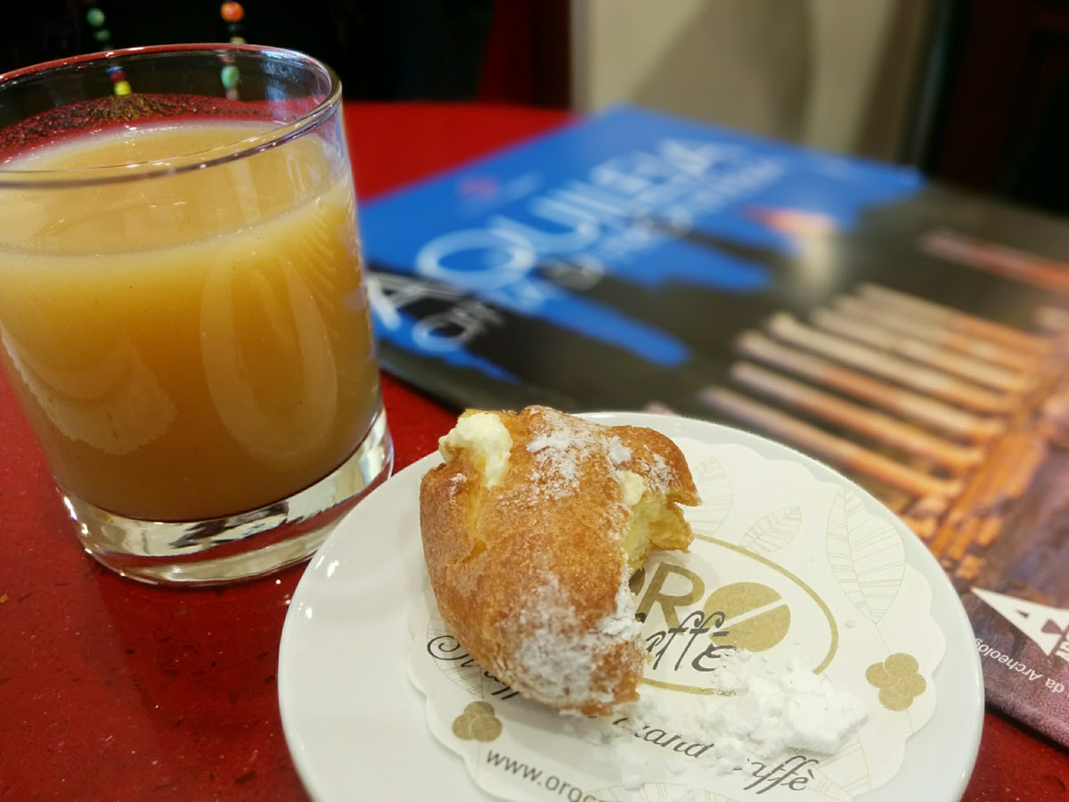 Breakfast in Aquileia