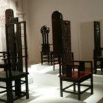Han Meilin in Venice - chairs