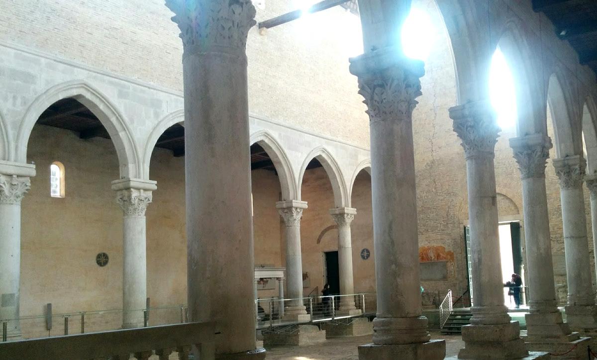 Columns in Basilica